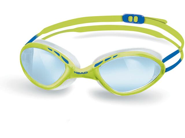 Head Tiger Race LiquidSkin Goggles, blue - lime